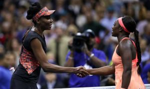 Sloathe Stephens outlasts Venus Williams to reach the maiden grand slam final