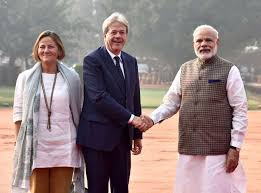 Italy PM Paolo Gentiloni's two days visit to India