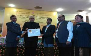 Water Resources Ministry pavilion bags gold medal in IITF