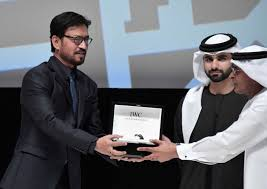 Irfan Khan receives Honorary Award at Dubai International Film Festival