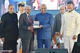 President Ramnath Kovind inaugurated the 100th Annual Conference of the Indian Economic Association at Acharya Nagarjuna University in Guntur of Andhra Pradesh