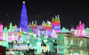 World's Largest Ice Festival Held in China