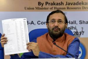 HRD Ministry Releases 'NIRF India Rankings 2018'