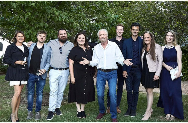 Billionaire Richard Branson apologises for SA photo 'that clearly lacked diversity'