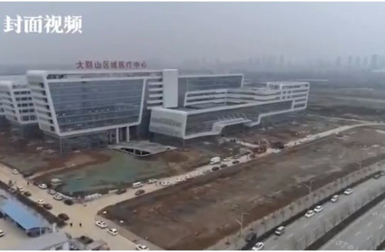 China converts empty building into 1,000-bed coronavirus hospital in 2 days