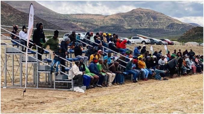Enoch Mgijima stadium Lesseyton sports field