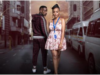 Hlomu and Mqhele in Showmax's The Wife cast
