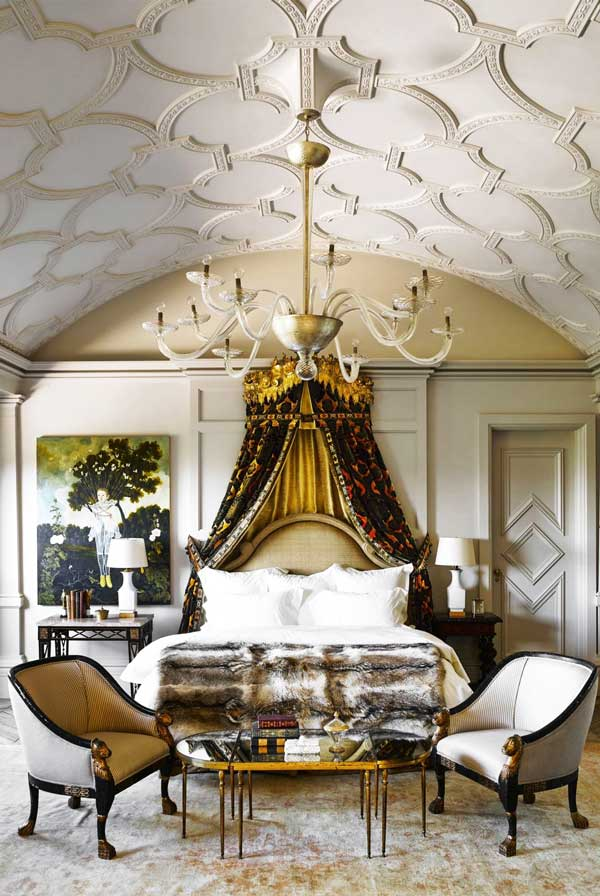 Best ceiling decor ideas | Plaster Tracery