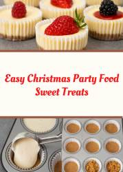 Easy Christmas Party Food Sweet Treats