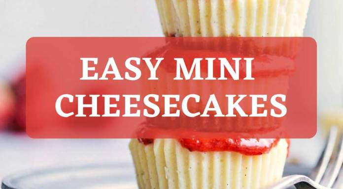 Easy Mini Cheesecake for christmas