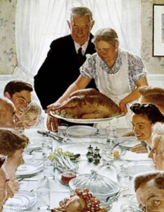 Norman Rockwell's Thanksgiving Dinner