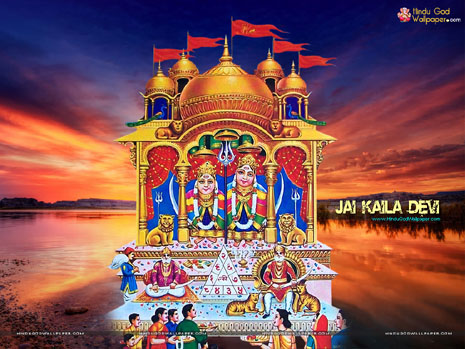 Mata Ke Wallpaper Hd Kaila Devi Kela Devi Karoli Rajasthan Wallpapers