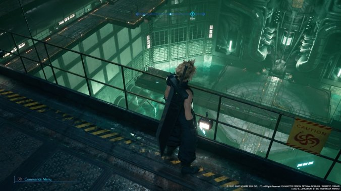 final fantasy vii remake demo reactor