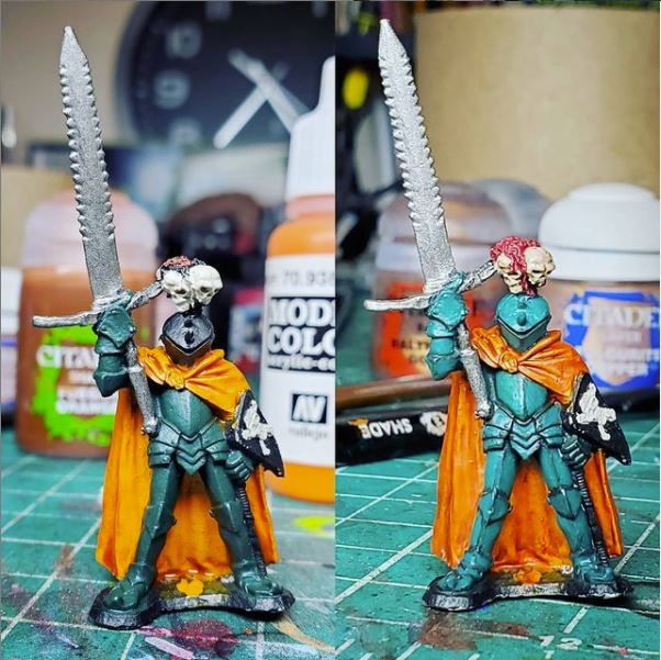 ral partha old metal chaos knight