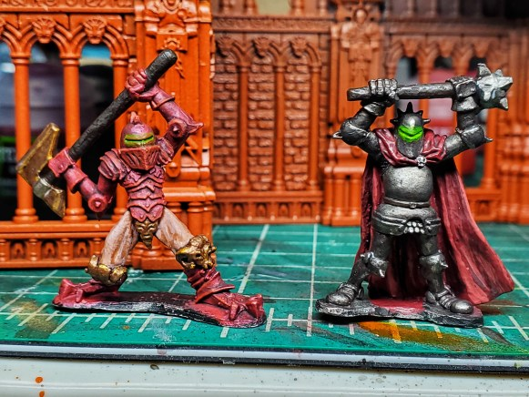 chaos metal minis painted