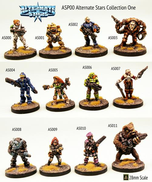 stargrave painted miniatures star wars space pirates minis