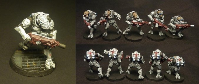 khurasan minis alien painted metal 28mm stargrave