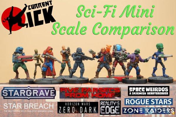 mini miniatures size scale 28mm comparison