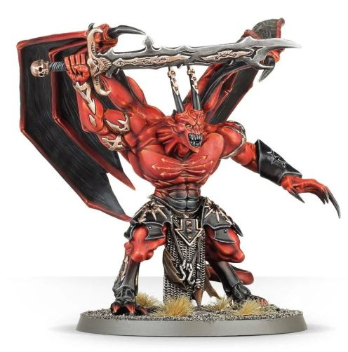 winged wing demon reign in hell painted 28mm