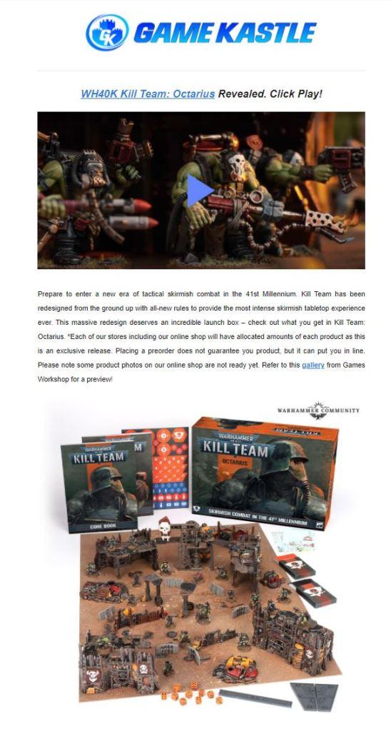 kill team warhammer 40000 pre order promise community compendium 2021