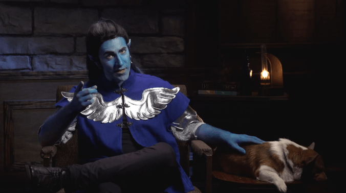 matt mercer critical role cosplay air genasi exandria unlimited review exu