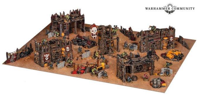 kill team octarius warhammer 40k death korps of krieg ork kommandos terrain
