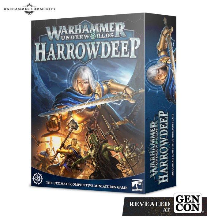warhammer underworlds harrowdeep age of sigmar box set gen con 2021 ork kruelboyz stormcast eternals