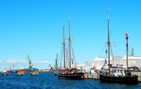 Wismar harbour