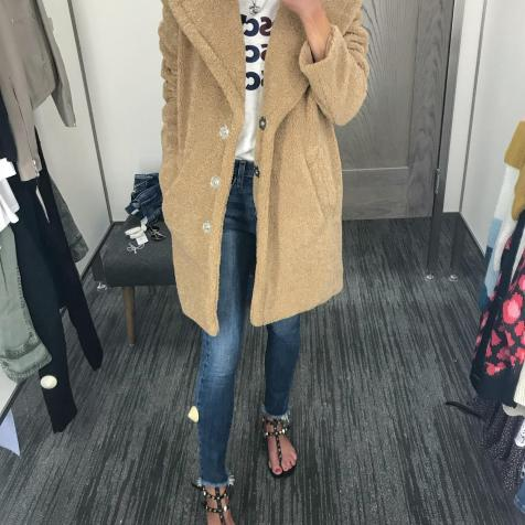 Guys, get this! The cutest coat! $92!