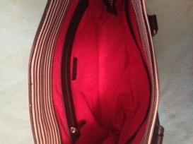 Inside of my purse/schoolbag!