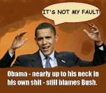 So, who did Clinton blame? Who did Bush blame? Who did Reagan blame? Who did—you get the idea.