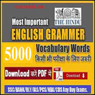 5000 English Words with Brief Definitions pdf downloads