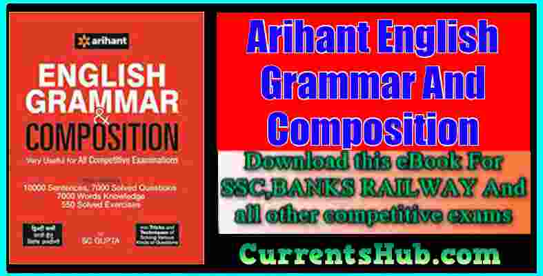 Free Pdf Download Arihant English Grammar And Composition