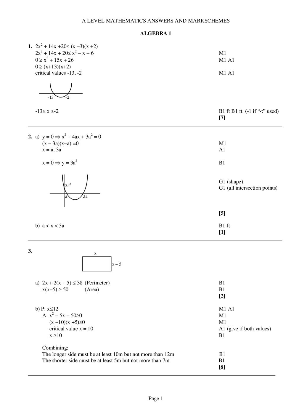 hight resolution of Algebra 1 Questions And Answers Pdf