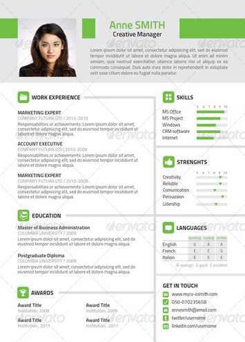 Plantilla De Curriculum Vitae Para Descargar Gratis Sample Resume
