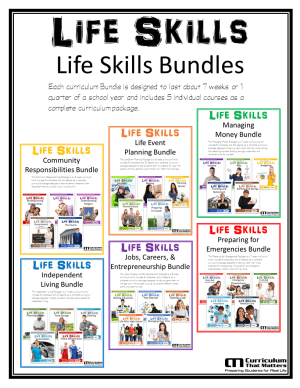 L.S. Curriculum Bundles