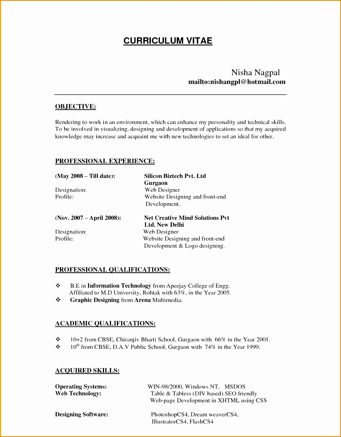 Resume For Hospital Job 7 Bpo Resume Template Free Samples Examples And Format