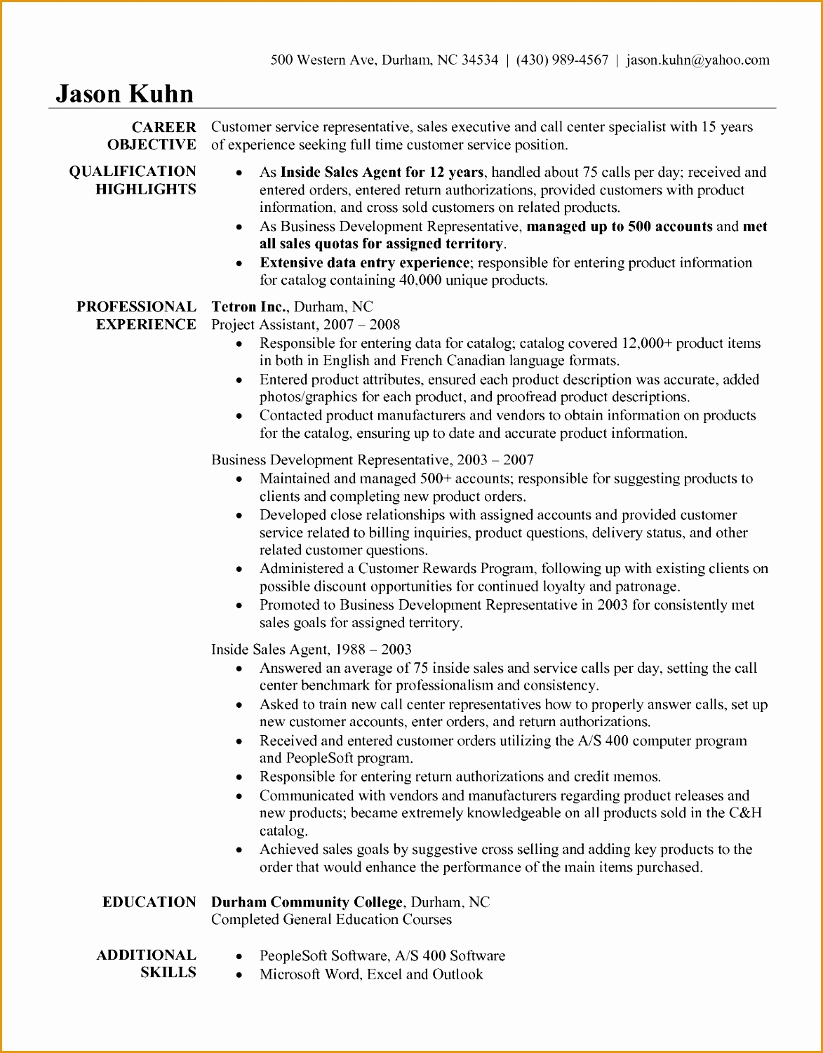 Objective For A Customer Service Resume 7 Customer Service Skills Resume Free Samples Examples