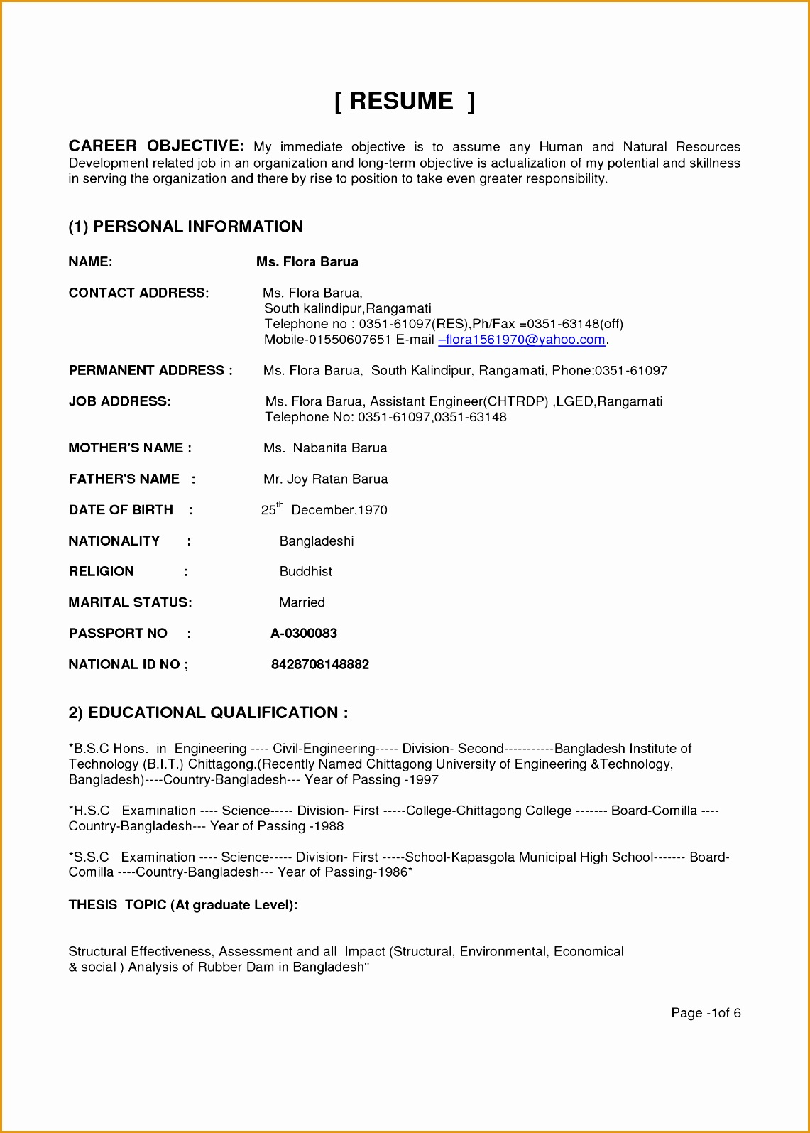 Resume Objective For Civil Engineering Student 7 Engineering Resume Objectives Sample Free Samples
