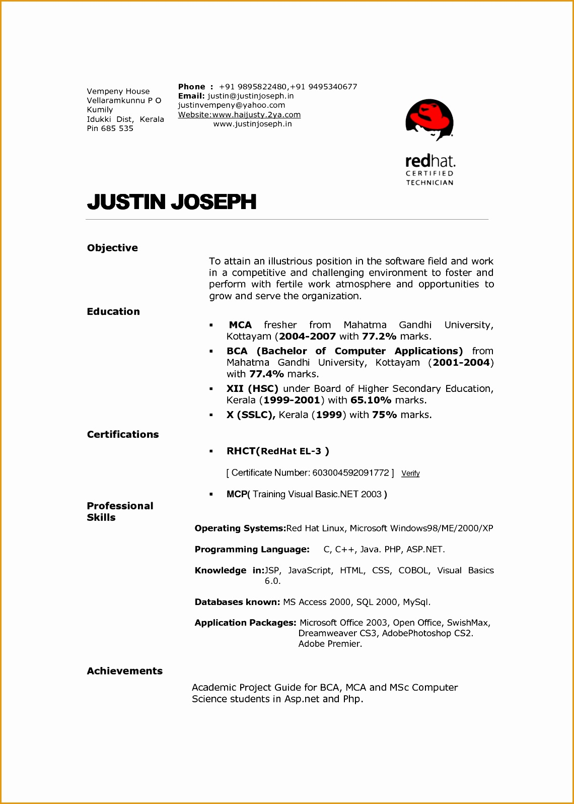 How To Create A Resume Template In Openoffice 6 Hospitality Curriculum Vitae Free Samples Examples
