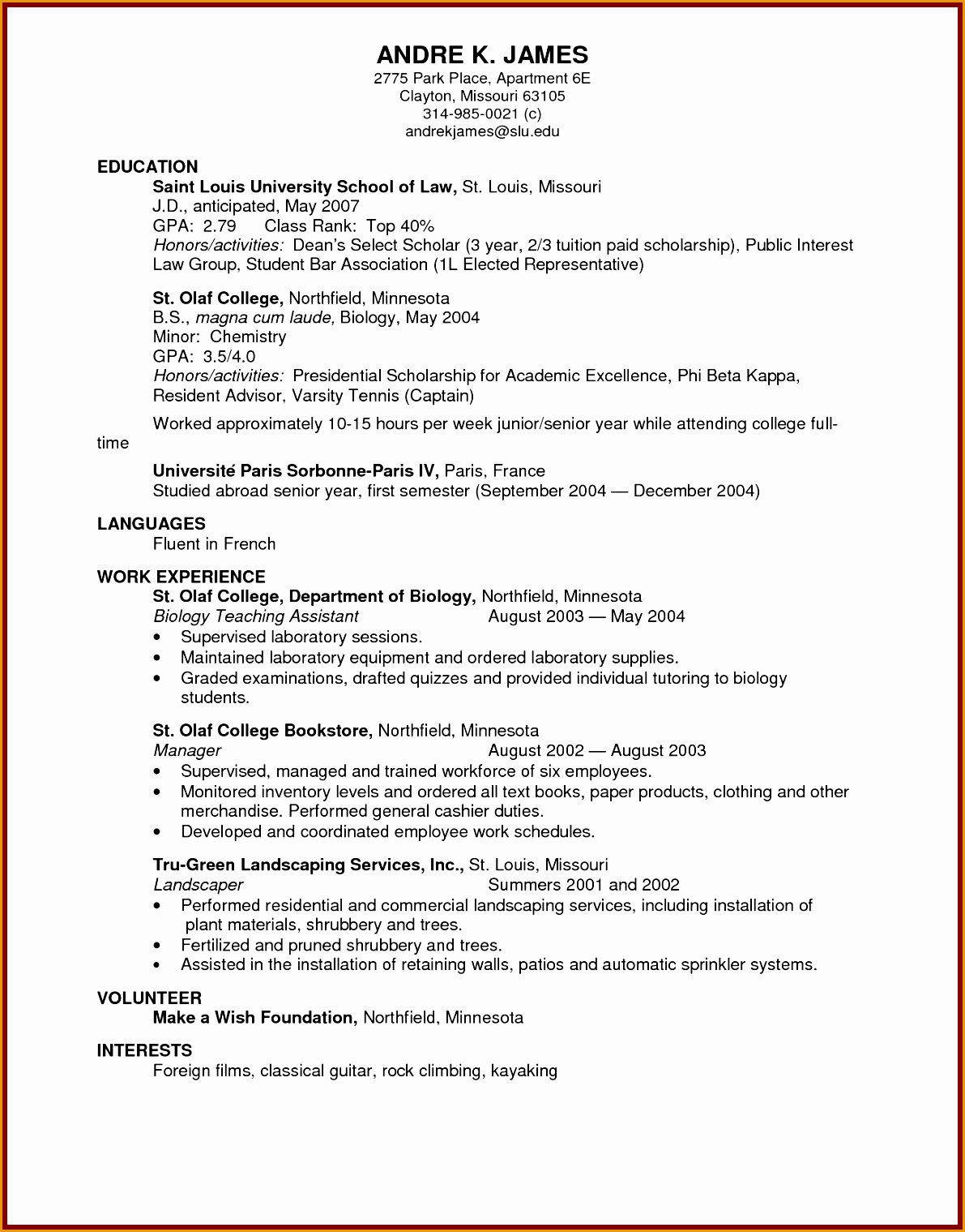 Skills For Law School Resume 6 Civil Engineering Cv Resume Template Free Samples
