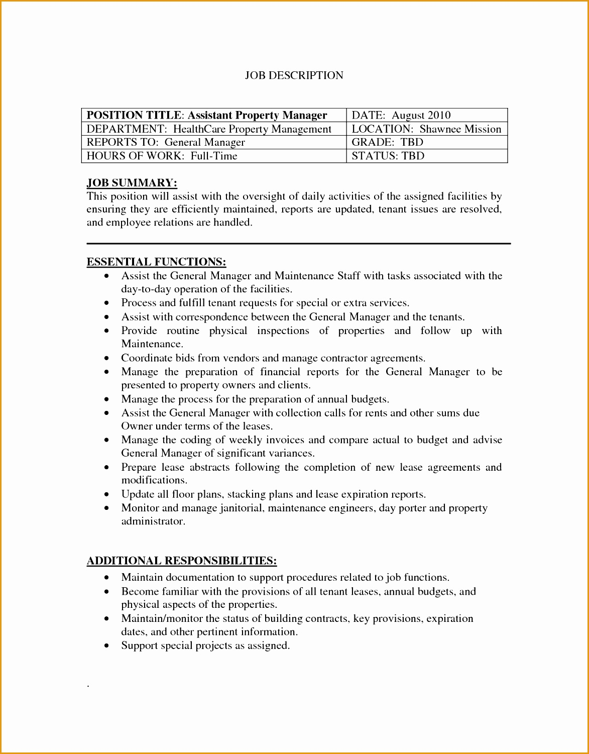 Resume Assistant Manager 5 Free Assistant Manager Resume Template Free Samples