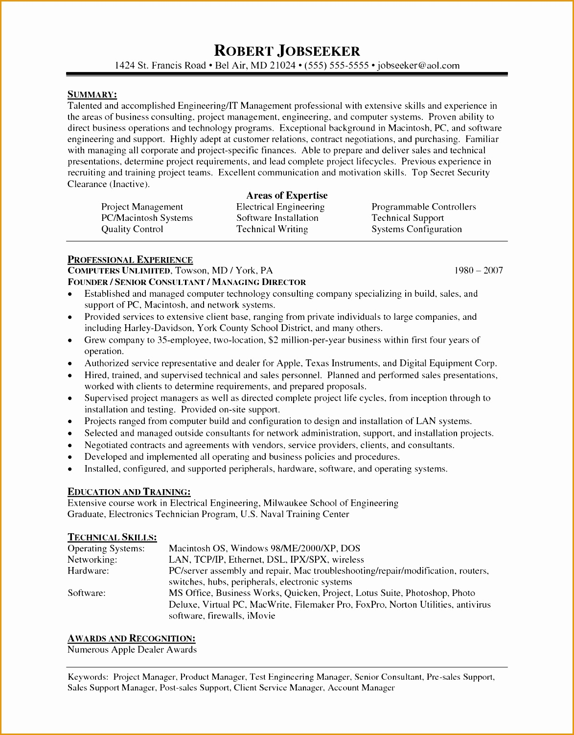 Resume Hobbies And Interests Examples 7 Recruitment Consultant Resume Sample Free Samples