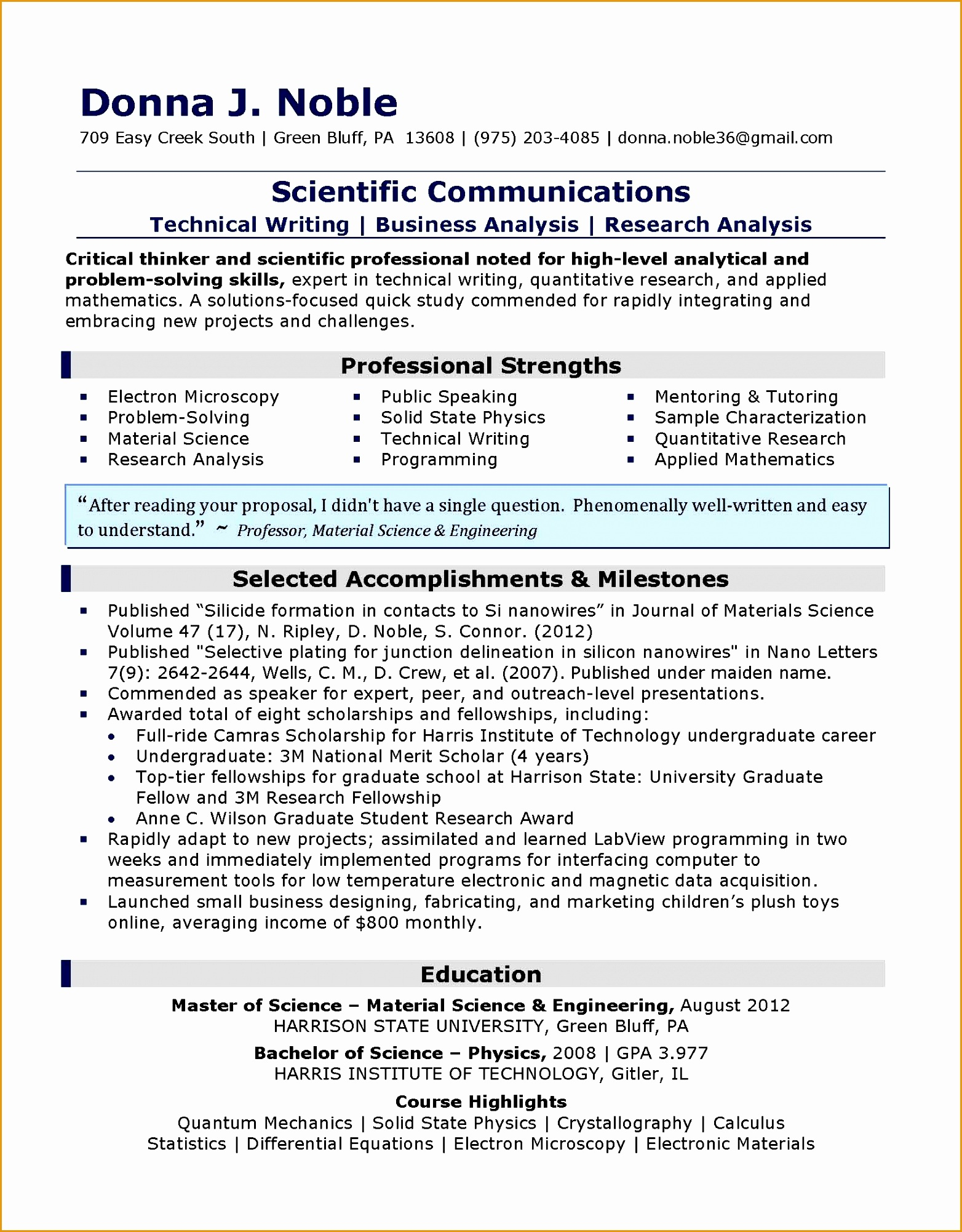 Senior Technical Writer Resume 8 Senior Executive Manufacturing Engineering Resume Free