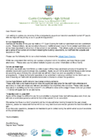Virtual open evening letter