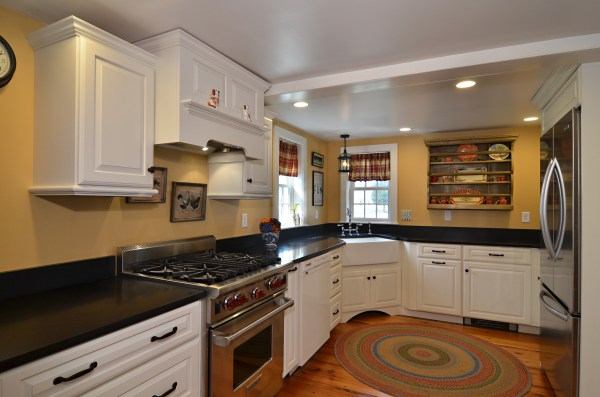 Mixing Old and New Kitchen Cabinets