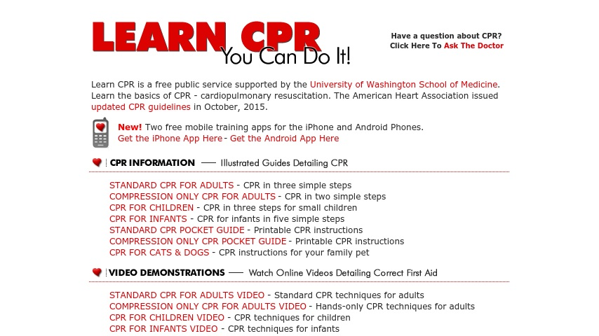 graphic regarding First Aid Guide Printable titled Master CPR Yourself Can Do It! Currikiworkplace 1st help marketing consultant