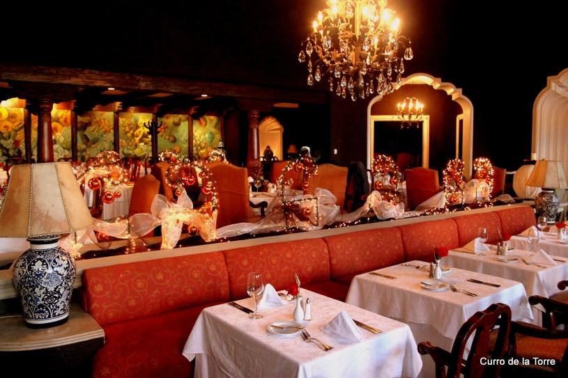 Comedor Hotel Vista Real Guatemala Navidades 2103