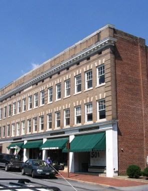 Main street elevation