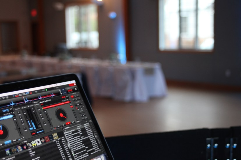Curry Events DJ Booth View